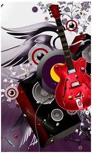 3D Abstract Wallpaper Guitar HD #4968 Wallpaper ...