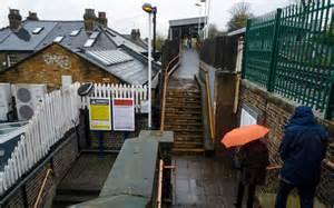Footpath Steps To Barnes Bridge Station © Kim Fyson Cc-by