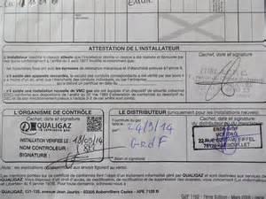 certificat de conformit 233 qualigaz la r 233 novation de notre maison