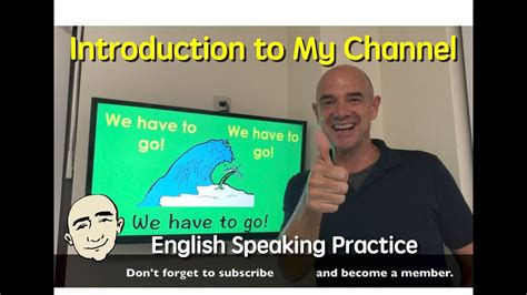 Mark Kulekchannel Introduction  English Speaking Practice  Esl  Efl  Ell Youtube