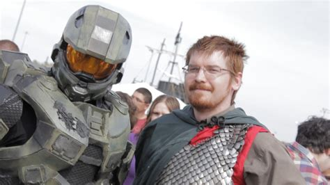 Real Master Chief In Public! Youtube