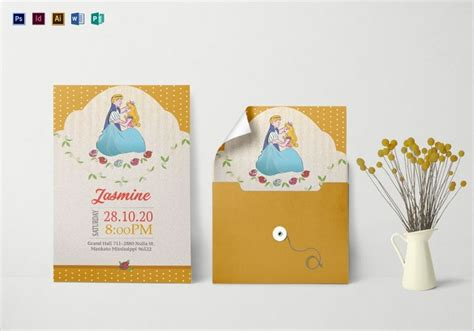 FREE 14+ Princess Birthday Invitation Designs & Examples
