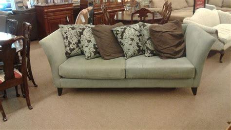 green chenille sofa gray green chenille sofa delmarva furniture consignment