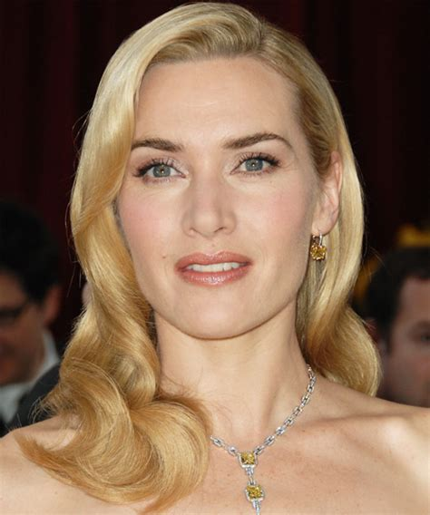 kate winslet long wavy formal hairstyle
