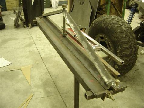 diy sheet metal brake piratexcom    road