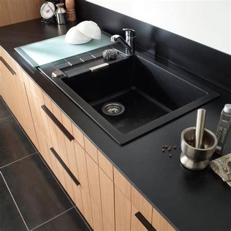 evier de cuisine noir les 25 meilleures idées concernant évier noir sur
