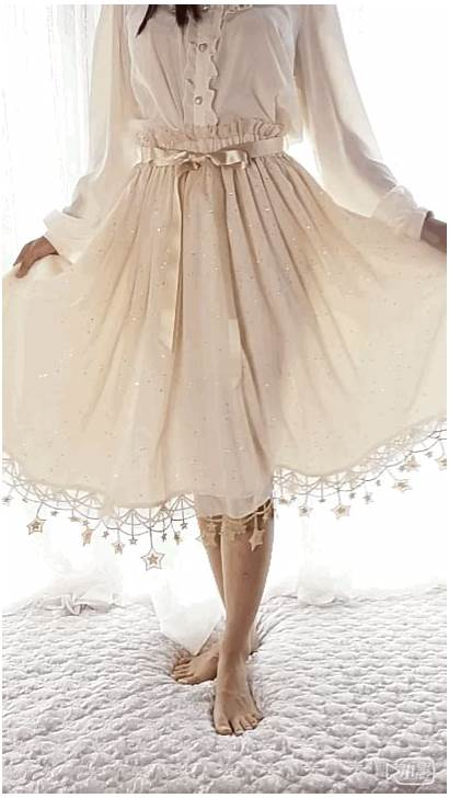 Night Starry Skirt Under Lolita Sweet Wave