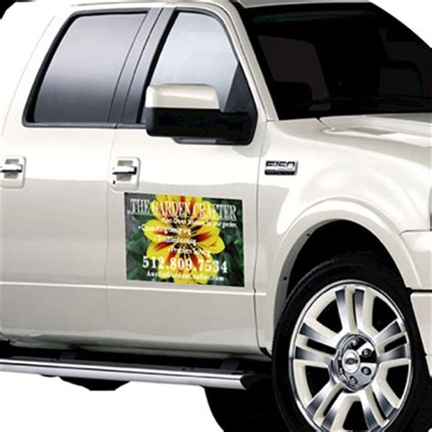 car door magnets vehicle magnets printed in color on 30mil magnet