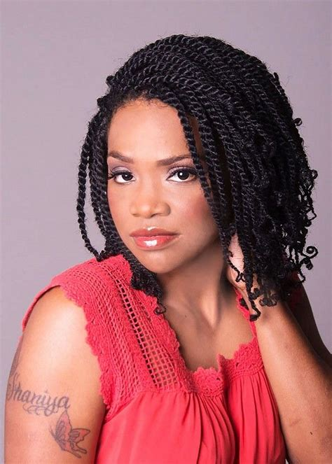 51 Kinky Twist Braids Hairstyles With Pictures Beautiful