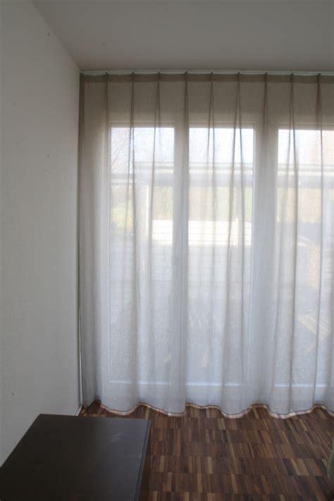 Vorhänge by Dekovorhang New York Modern Beige Hellbeige Grau
