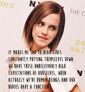 21 Amazing Emma... Emma Watson Beauty Quotes