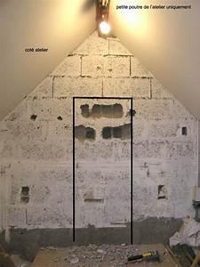 Faire Une Ouverture Dans Un Mur Porteur En Parpaing : per age mur porteur en parpaing pose petite porte ~ Dailycaller-alerts.com Idées de Décoration