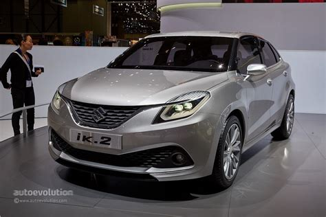 Suzuki Ik-2 Hatch Concept Breaks Free In Geneva