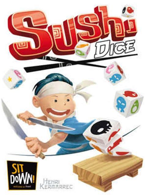 sushi dice jeu de société chez jeux de nim