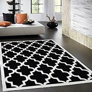 tapis de salon noir et blanc 2 idees de decoration With tapis blanc salon