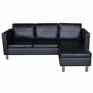 Eckcouch L Form : vidaxl kunstleder 3 sitzer ecksofa loungesofa l form dreisitzer eckcouch couch eur 204 99 ~ Indierocktalk.com Haus und Dekorationen