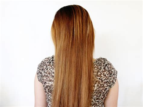 A With Hair by How To Straighten The Back Of Your Hair 10 Steps With