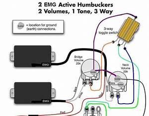 Active B Pickup Wiring Diagram For Guitar