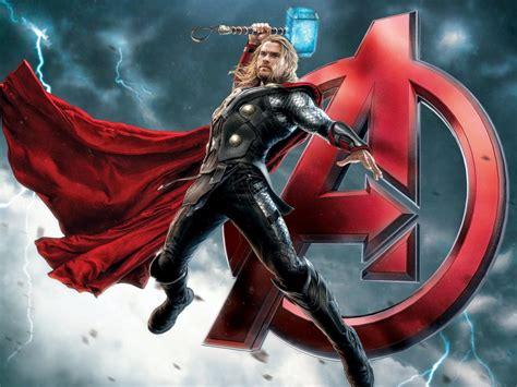 avengers fantasy warrior thor super hero poster ultra