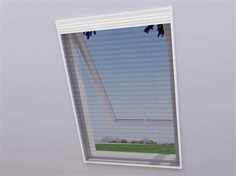 Rollos Und Plissees Fuer Dachfenster by Wip 2 In 1 Dachfenster Fliegengitter Sonnenschutz 113 X