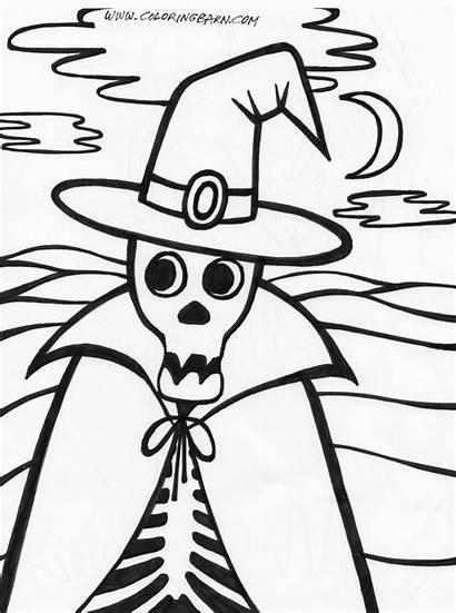 Halloween Skeleton Coloring Pages Printables Printable Skeletons