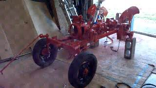 Power King Economy Tractor Restoration Front Wheels