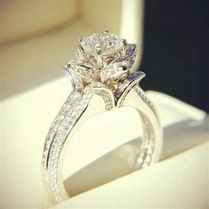 large diamond ring love wedding beautiful jewelry pretty With pretty wedding rings