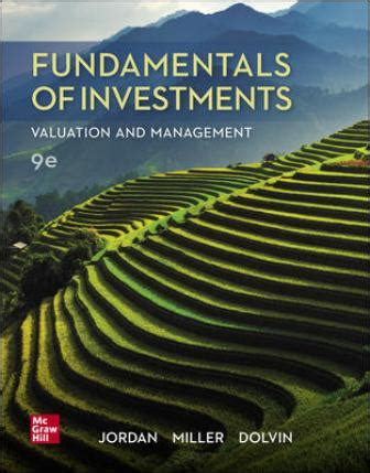 Solution Manual for Fundamentals of Investments: Valuation ...