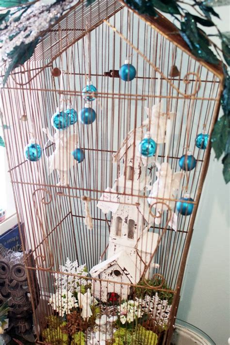 christmas bird cages itsy bits and pieces end of the tour the bachman s 2013 holiday ideas house on my blog
