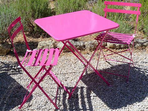 chaise jardin couleur stunning table et chaises de jardin en couleur ideas