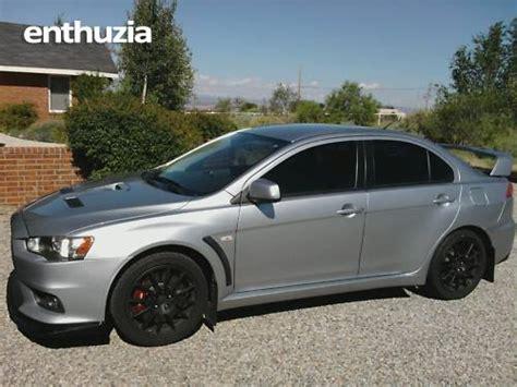 Mitsubishi Albuquerque by 2008 Mitsubishi Lancer Evo For Sale Albuquerque New Mexico