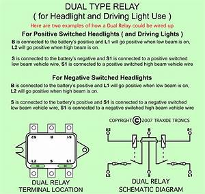Fox Body Headlamp Relay