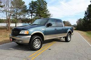 2003 Ford F150 King Ranch 173692 Miles Blue 5 4l Automatic