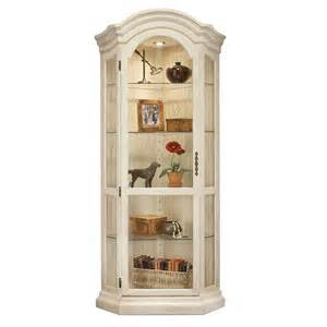 shop philip reinisch company colortime sandshell white birch curio cabinet at lowes