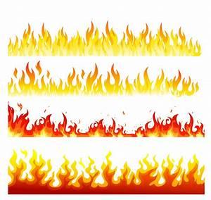 Seamless flame Free Vector / 4Vector