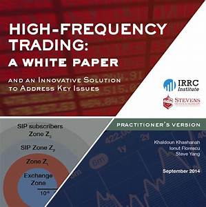 New Stevens Research Explains High-Frequency Trading ...