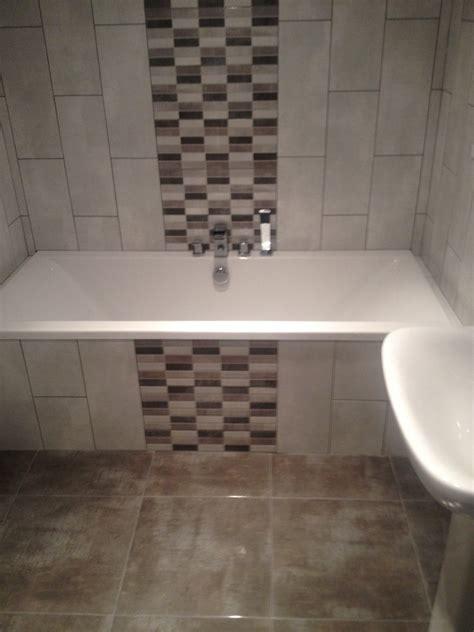bathroom feature tile ideas mosaic tiles on bath panel search home ideas