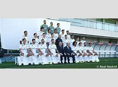 The official Real Madrid photo for the 201718 season