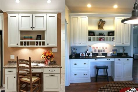 desk in kitchen design ideas 20 clever ideas to design a functional office in your kitchen 8686