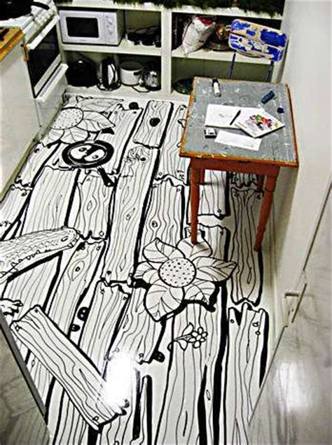 Personalized Kitchen Floors Vinyl Contact Paper Makes Any