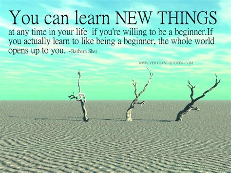 thought for the day learn new things the learning renaissance