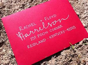 calligraphy comeback evolves into trendy envelope art With how to hand address wedding invitations