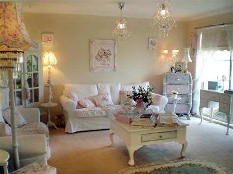 shabby chic living rooms living room  dining room
