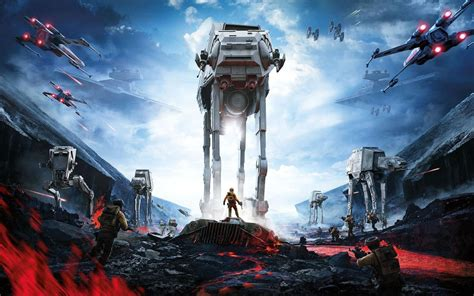 star wars battlefront video game ps attack walker desktop