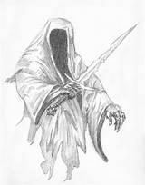 Nazgul Lord Rings Coloring Drawing Drawings 783px 41kb Getdrawings sketch template