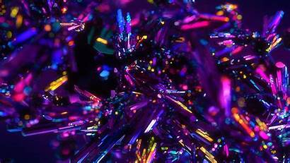 4k Abstract Colorful Crystals Wallpapers Ultra 3840