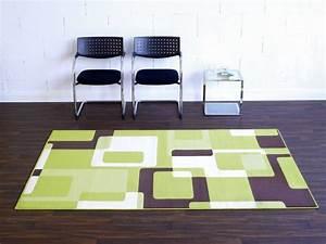 Teppich Grün Braun : designer velours teppich retro gr n braun creme 102015 teppiche kurzflor teppiche design teppiche ~ Markanthonyermac.com Haus und Dekorationen
