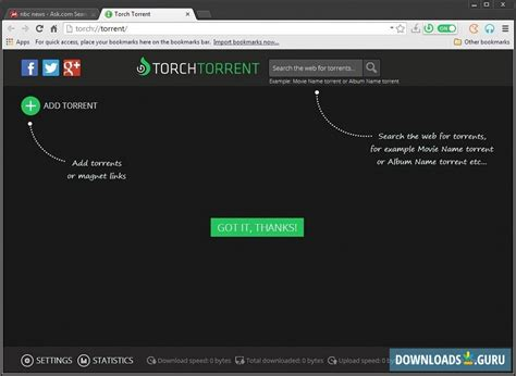Download Torch Browser For Windows 1087 Latest Version