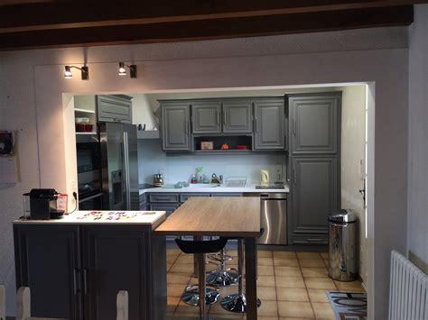 ouvrir la cuisine sur le salon cuisine verone retro le poir 233 sur vie