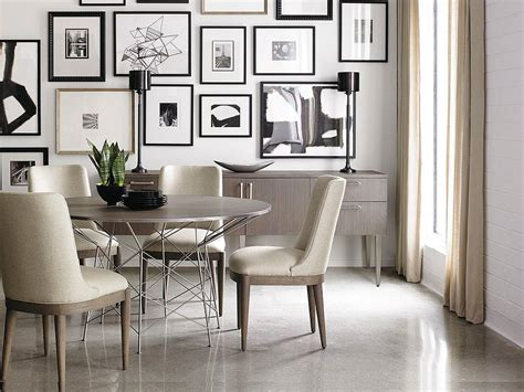 dining rooms  delightful  diverse gallery walls